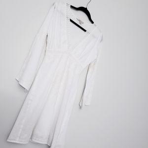Boston Proper - White tunic dress